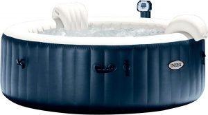 Intex Pure Spa Bubble Therapy jacuzzi 196x71 cm 4 personen Exclusive limited