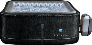 NetSpa Cayman- Opblaasbare Jacuzzi- 4 personen-168 x168 x70cm-massage / verwarming / filtratie