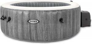 Intex Pure Spa Bubble - Greywood jacuzzi - 196x71 cm - 4 personen