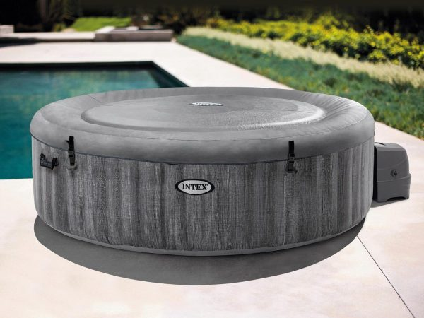 Intex Pure Spa Bubble - Greywood jacuzzi - 216x71 cm - 6 personen