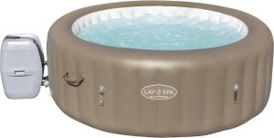 Bestway LAY-Z-SPA® Whirlpool Hottub Jacuzzi Palm Springs AirJet™ rond, 196 x 71cm 60017