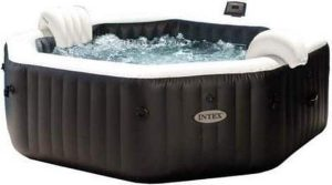 Intex PureSpa Jet & Bubble DeLuxe Jacuzzi 6-Persoons Set met Zoutwatersysteem - bubbelbad - whirlpool