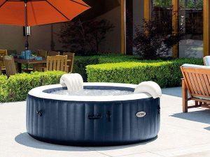 Intex PureSpa Navy Bubbel Opblaasbare 4-persoons | Opblaasbare spa