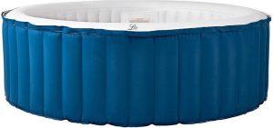 Opblaasbare Jacuzzi, spa , 180cm, 4 personen, pomp, inflator, filter, zeildoek en afstandsbediening - hottubs -