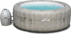 Bestway - Lay-Z-Spa Honolulu - Jacuzzi - Zwembad - Pomp - Relax - Massage - Hoes - 4-Personen - Blauw - 196x71cm - 916L