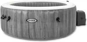 Intex PureSpa Greywood Luxe Bubble Spa